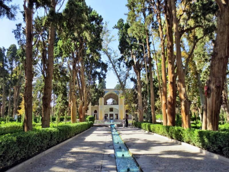 """""""Fin-Garten"""" in Kashan im Iran"""