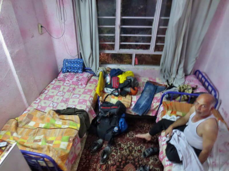 Einfach und günstige Unterkunft im Iran