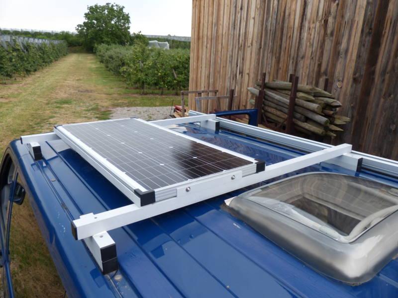 Eine Solaranlage für den Camper
