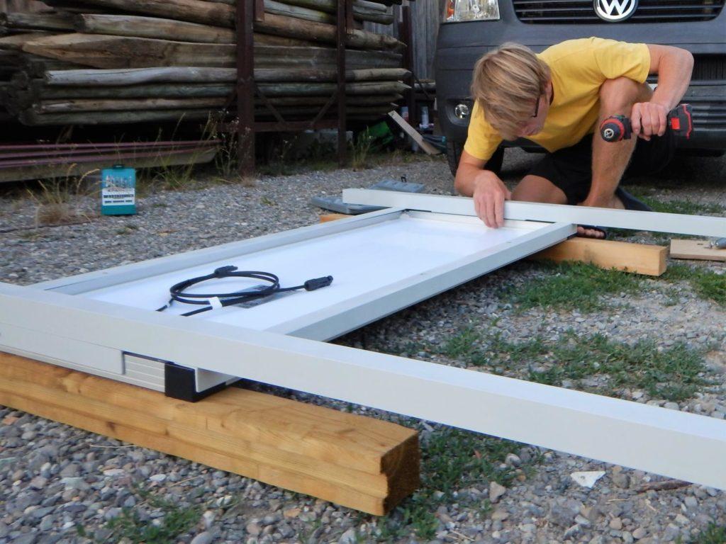 Die Solaranlage für den Camper selber einbauen