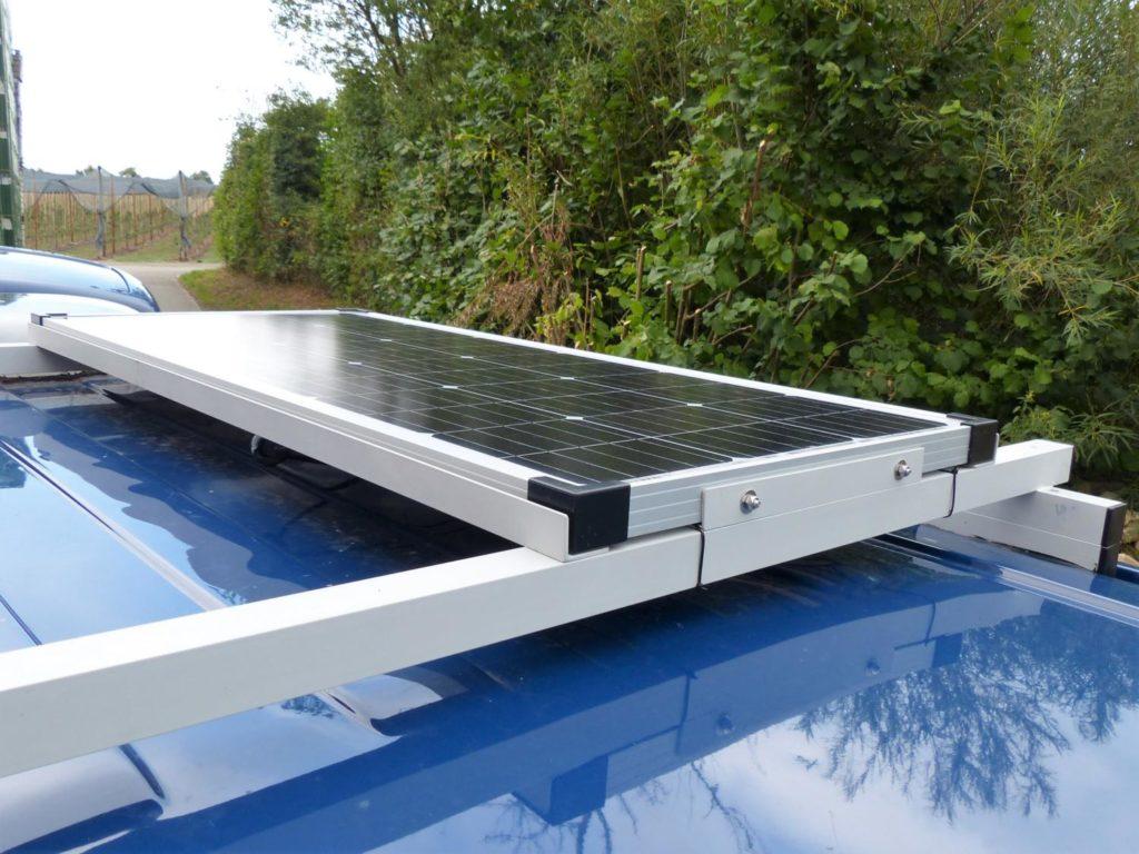 Solaranlage für den Camper