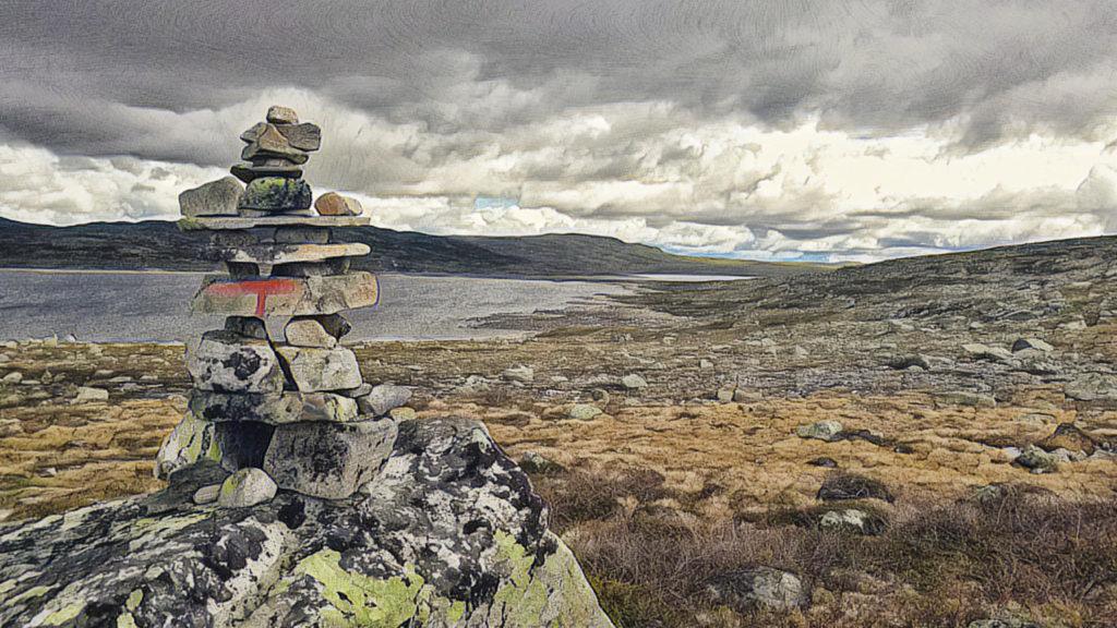 Mit dem Camper durch Skandinavien. Südnorwegen