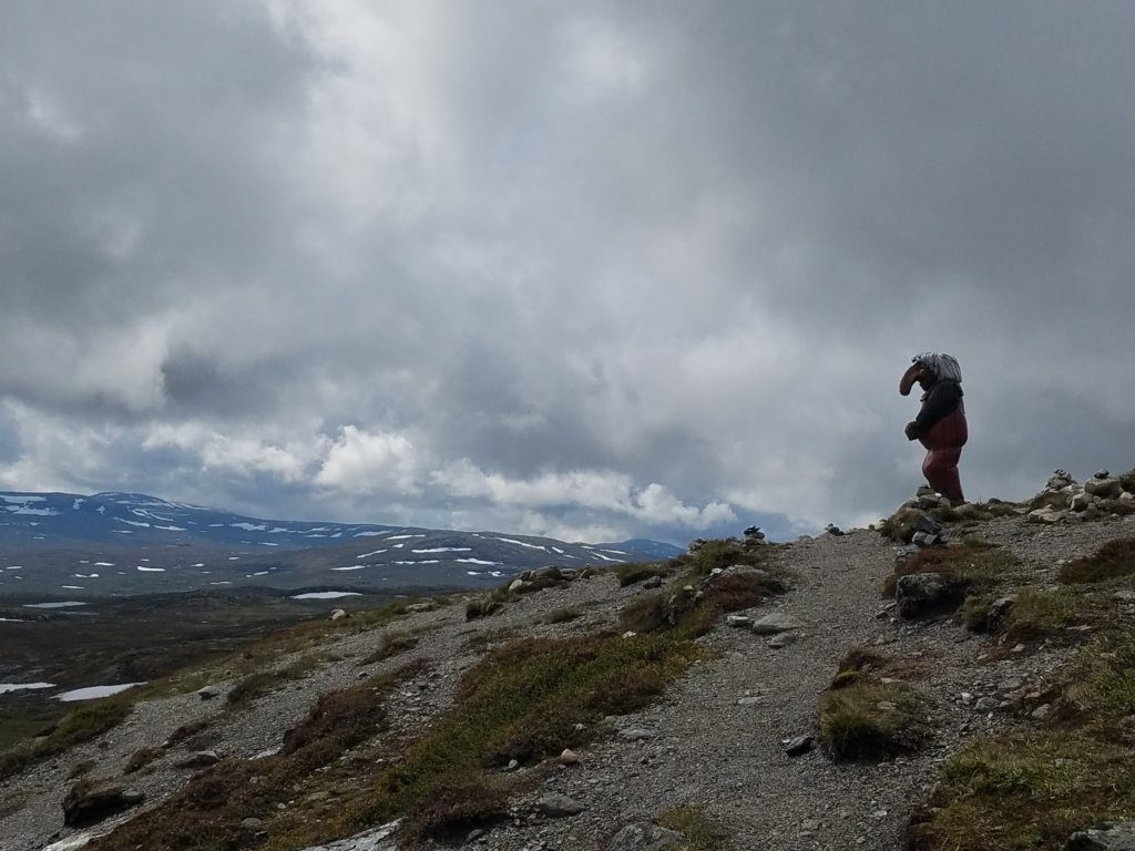 Sichtung eines Trolls in der  Hardangervidda