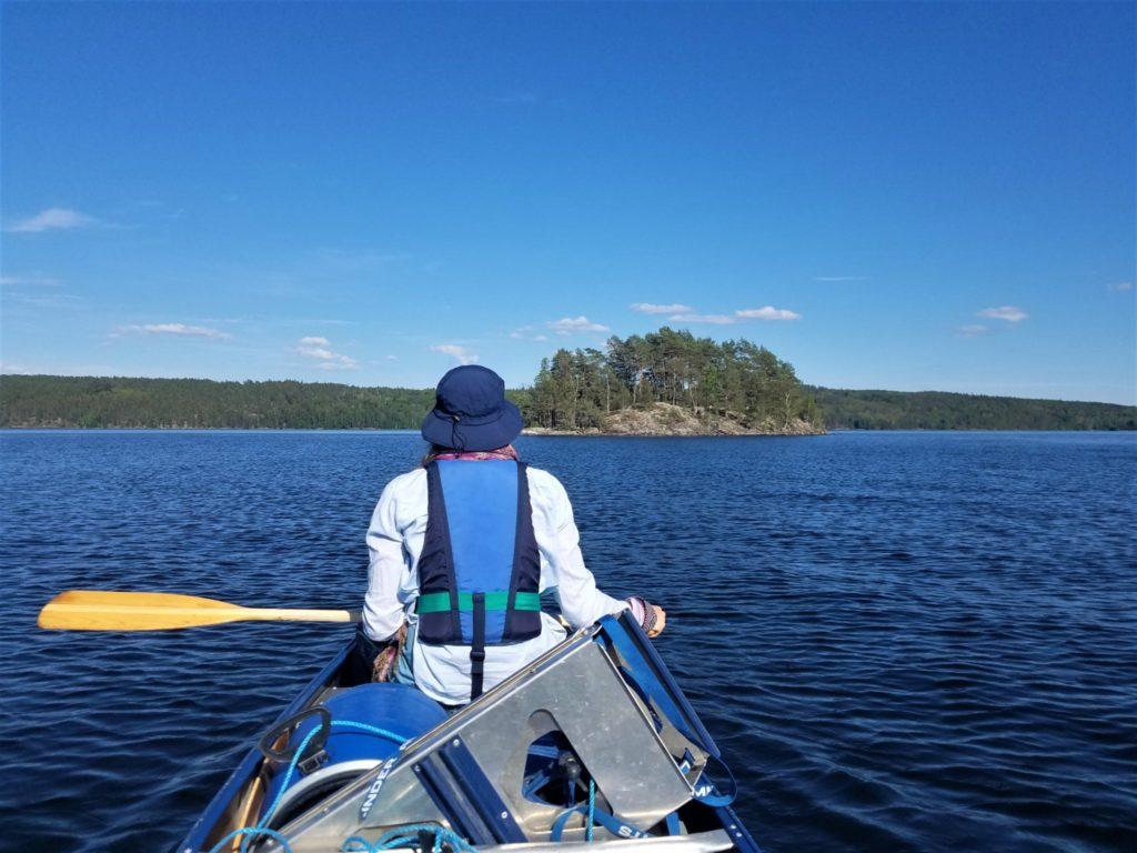 Värmeln - Glafsfjorden Kanu-Rund-Tour in Schweden