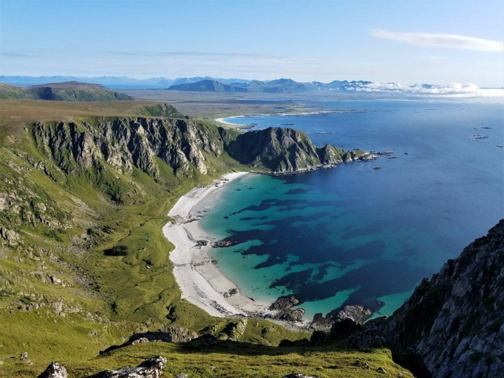 Die Insel Andoya gehört mit zu Vesteralen.