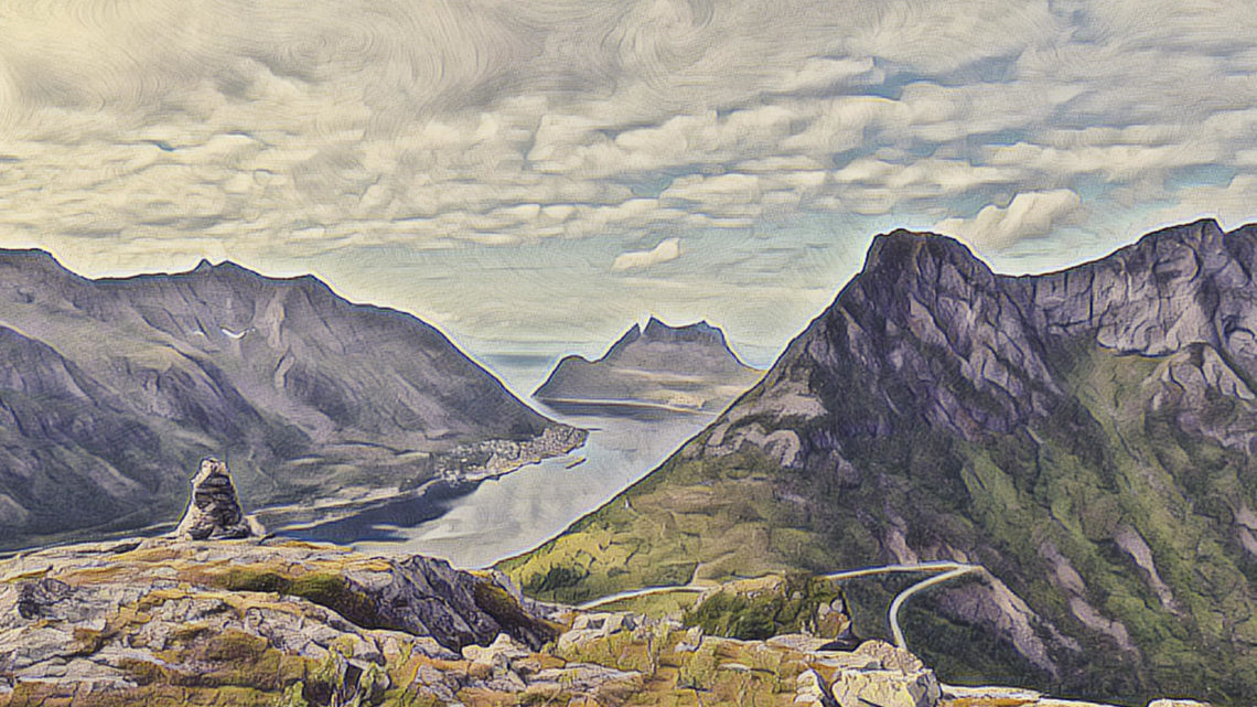 Insel Senja und Tromso in Norwegen