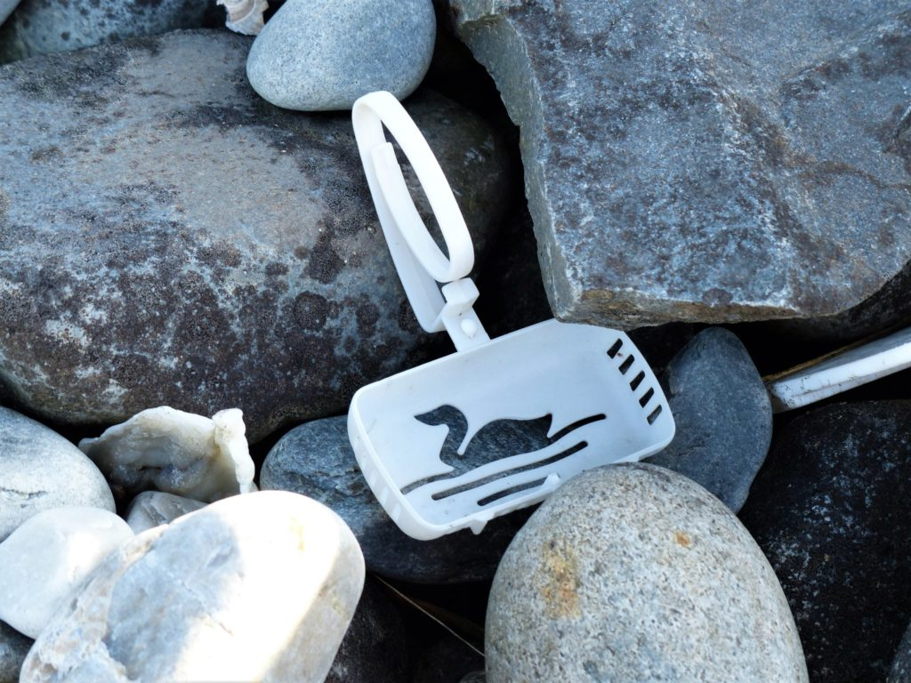 Müll an der Küste Norwegens. Kinnarodden und der Müll