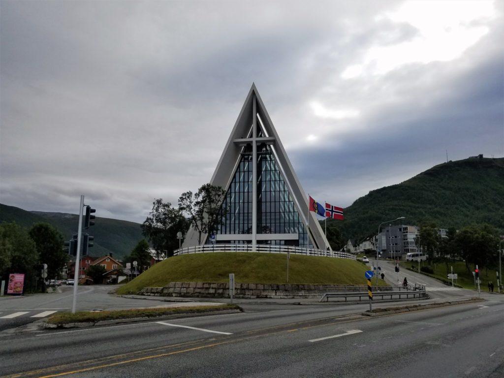 Die Eiskathedrale in Tromso.