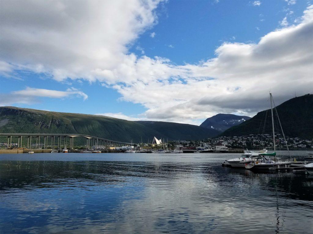 Die Stadt Tromso