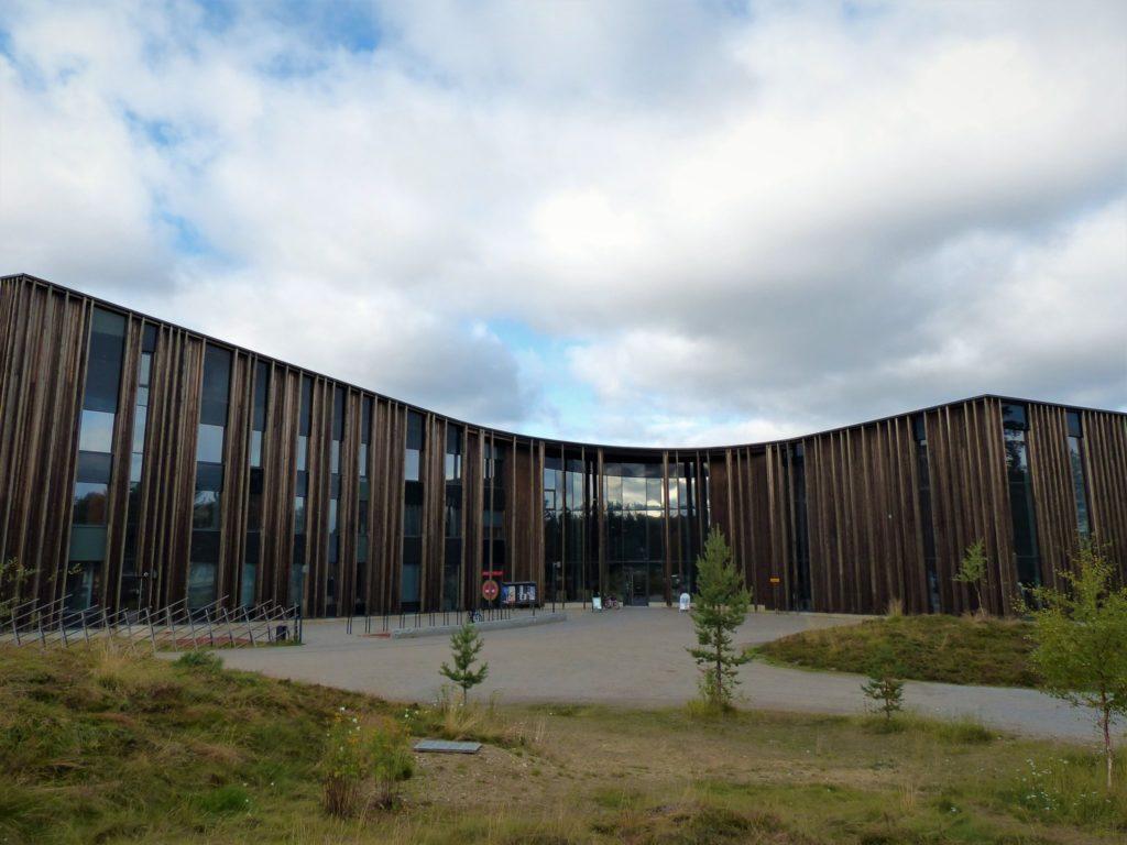 Kulturzentrum Sajos in Inari. Das Parlament der Samis. Lappland