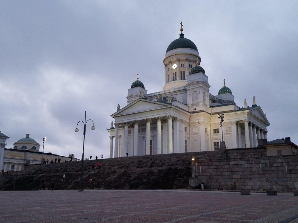 Die Hauptstadt Finnlands. Helsinki.