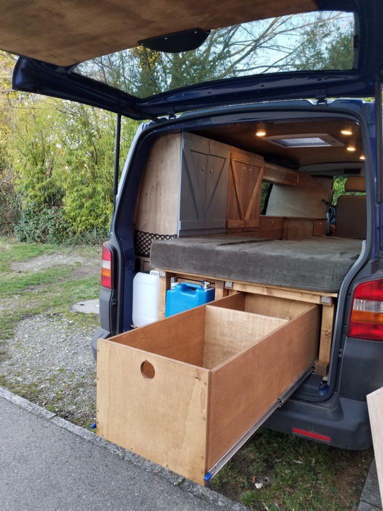 DIY Schublade für den Camper bauen