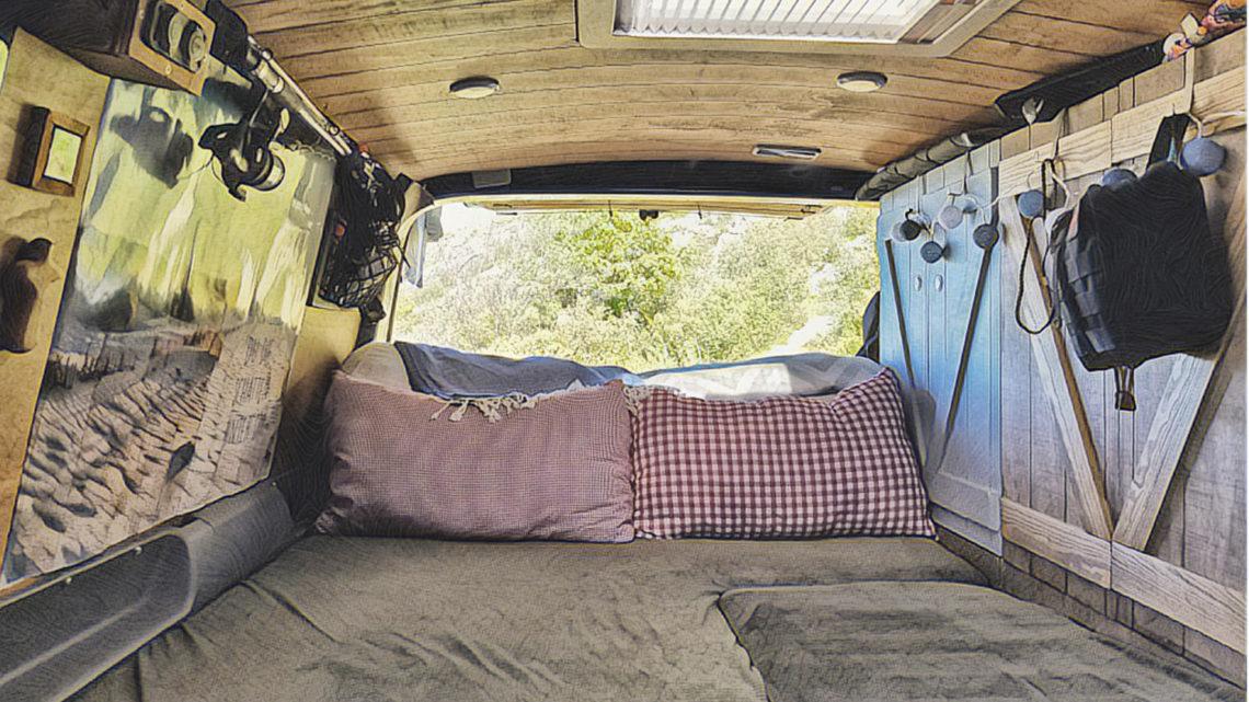 Ein Bett für den Camper Ausbau selber bauen