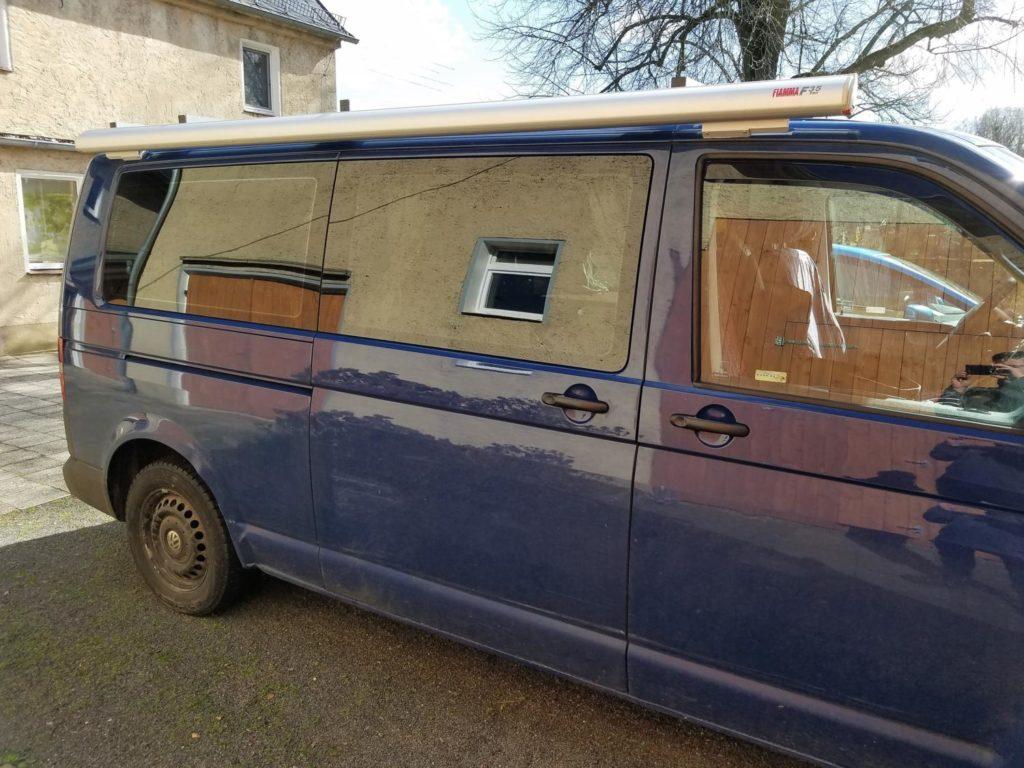 Fiamma F35 Pro Markise für den Camper Van und VW Bus