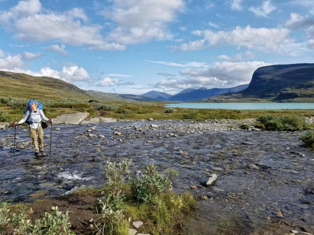 Trekking Tour auf dem Dag Hammarskjöldsleden in Lappland