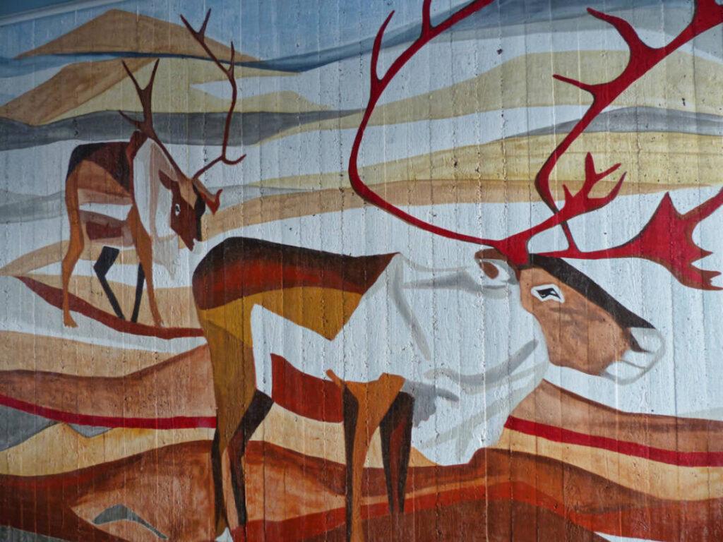 Wanderung am Kungsleden in Lappland