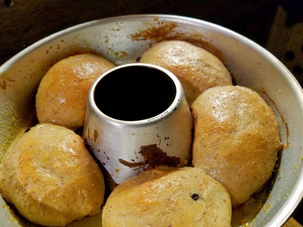 frisch gebackene Brötchen aus dem Omnia
