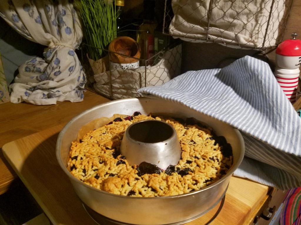 Kuchen aus dem Omnia. Erfahrung auf Reisen