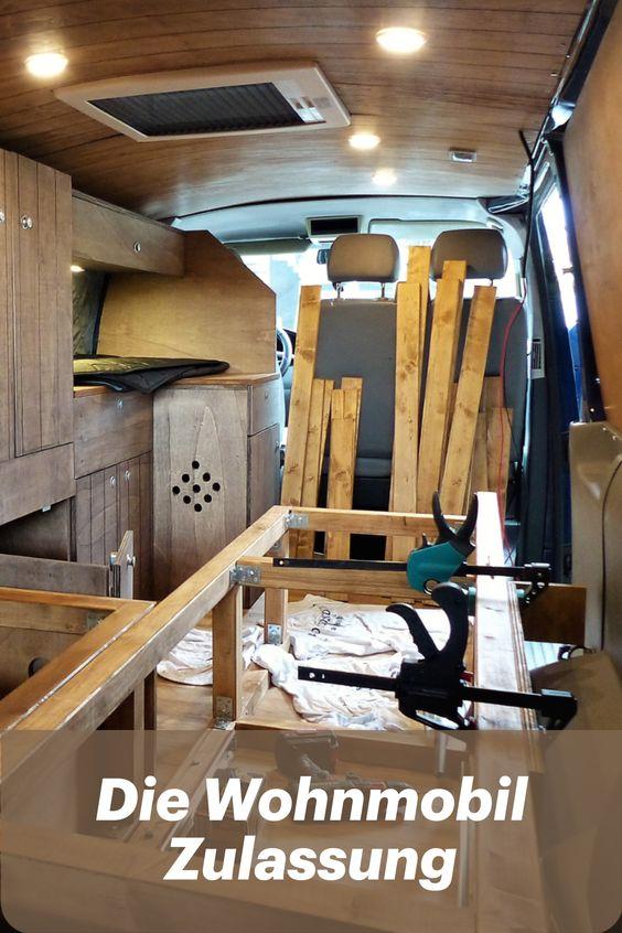 Die Wohnmobilzulassung nach dem Camper Ausbau