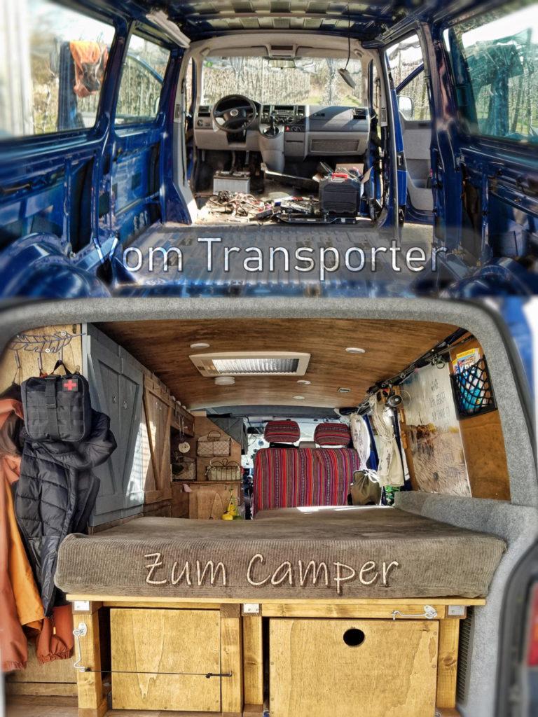 Kostenlose DIY Camper Ausbau Anleitung