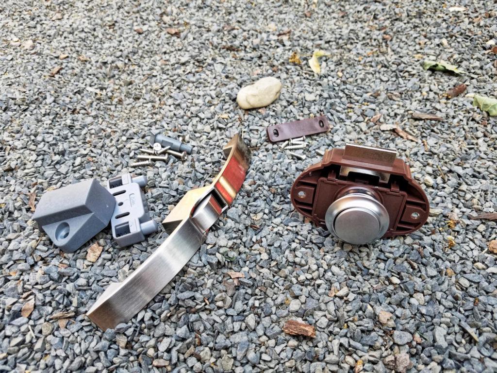 Push Lock Möbelschlösser von Camper Meyer im Camper verbaut