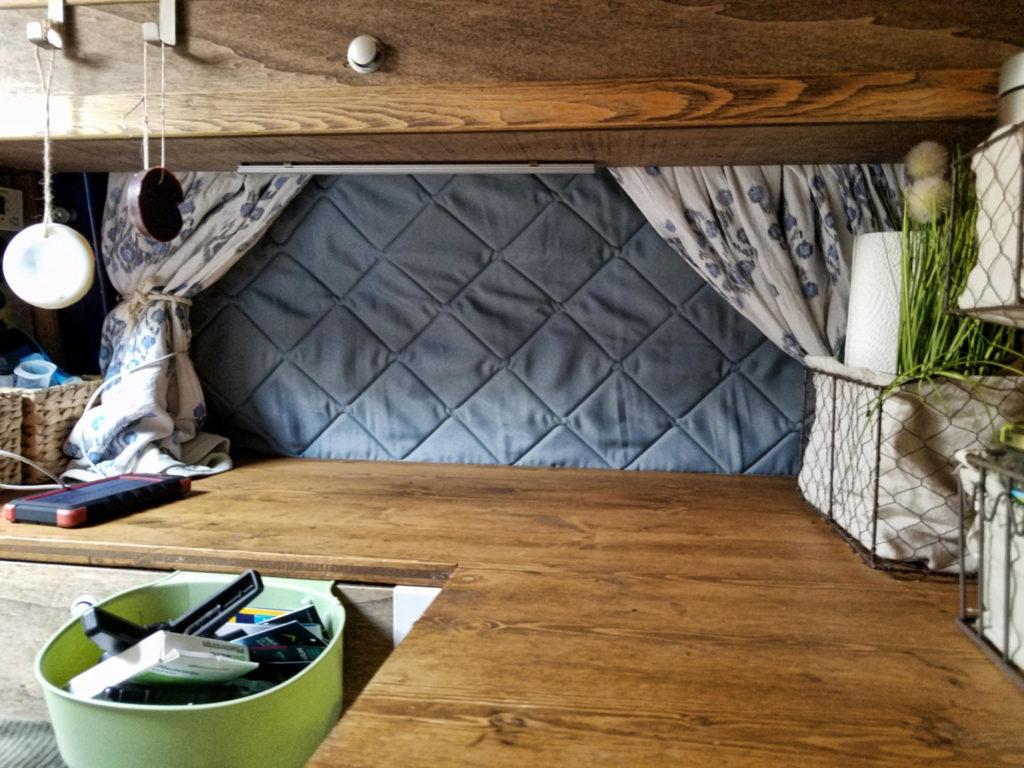 Isoliermatten für die Fensterscheiben im Camper