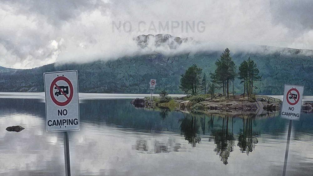 Immer mehr Camping Verbote für Wohnmobile