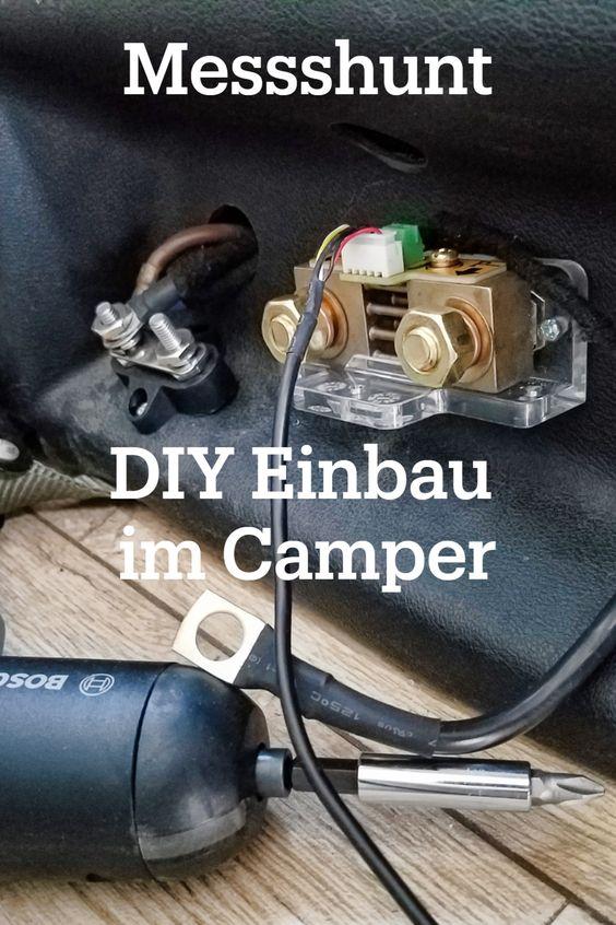 Batteriecomputer und Messshunt Einbau Anleitung in den Camper