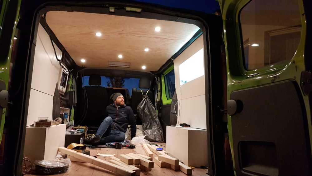 Deckenbeleuchtung im Renault Trafic