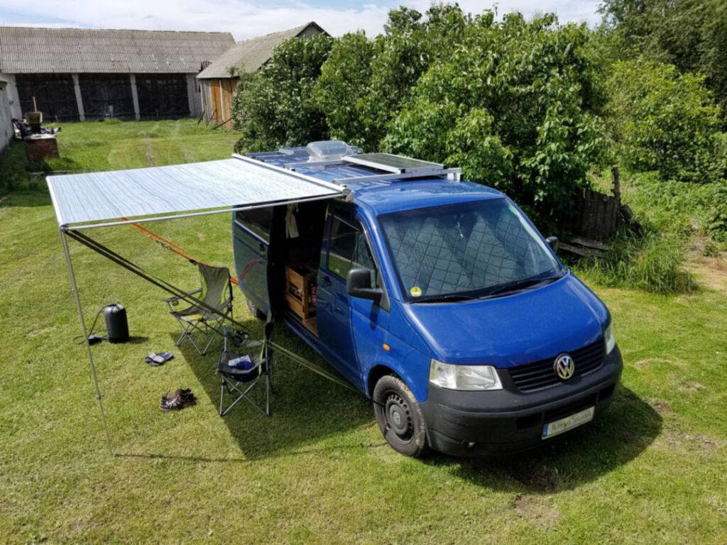Markise Fiamma F 35 Pro für den Campingbus