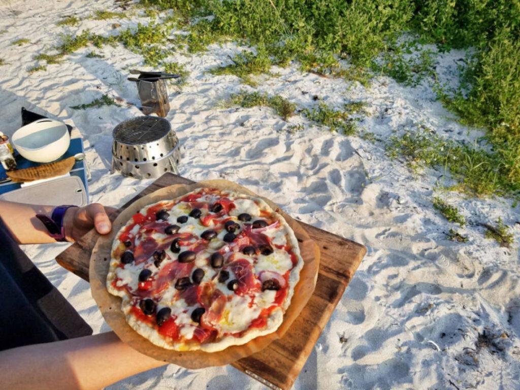 Pizza backen mit dem Atago