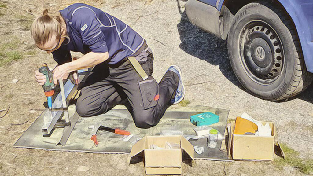 Materialliste und Werkzeugliste für den Camper Ausbau