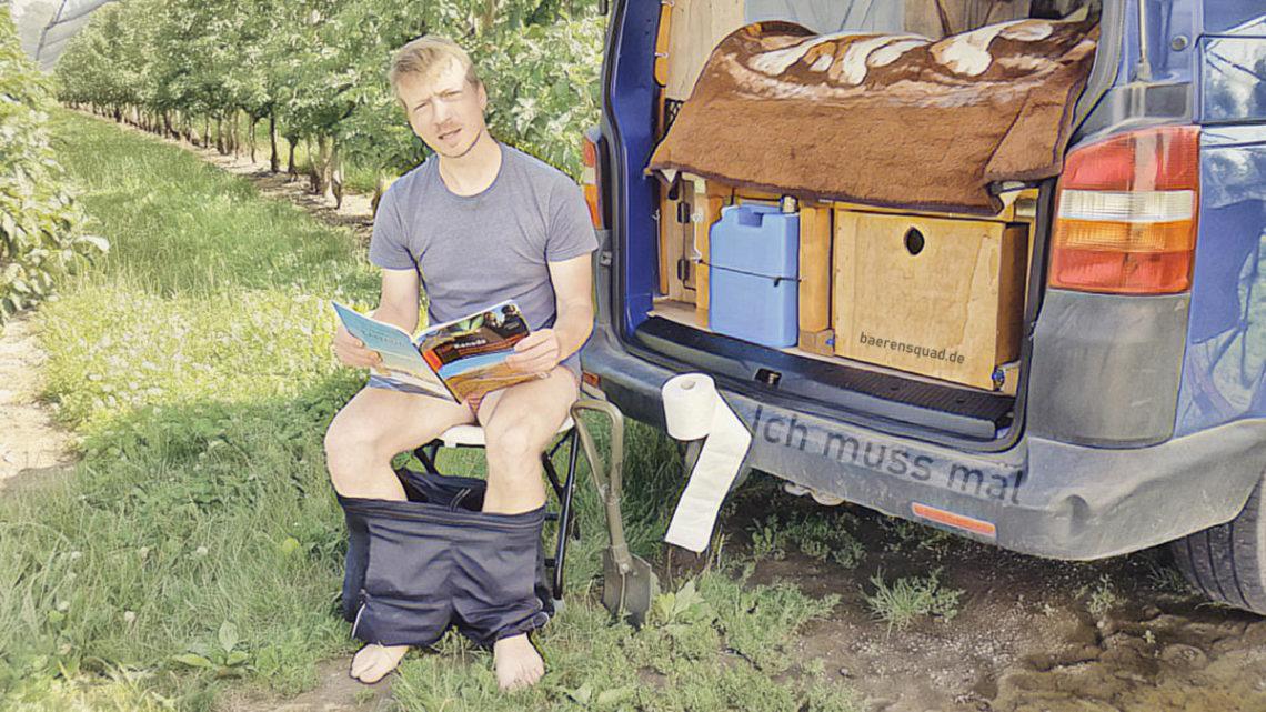 Welche Campingtoilette für den Camper Ausbau