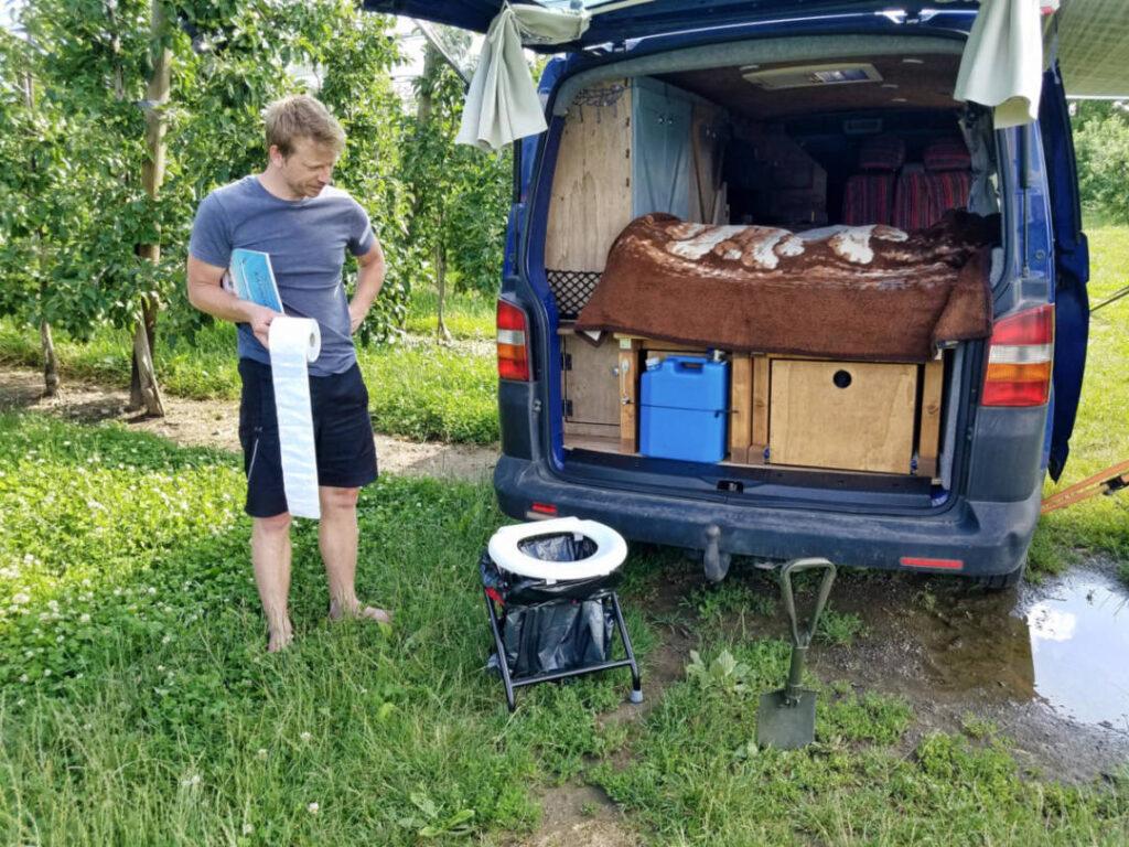 Welche Campingtoilette für den Campingvan?